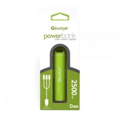 POWER BANK 2500mAh VERDE...